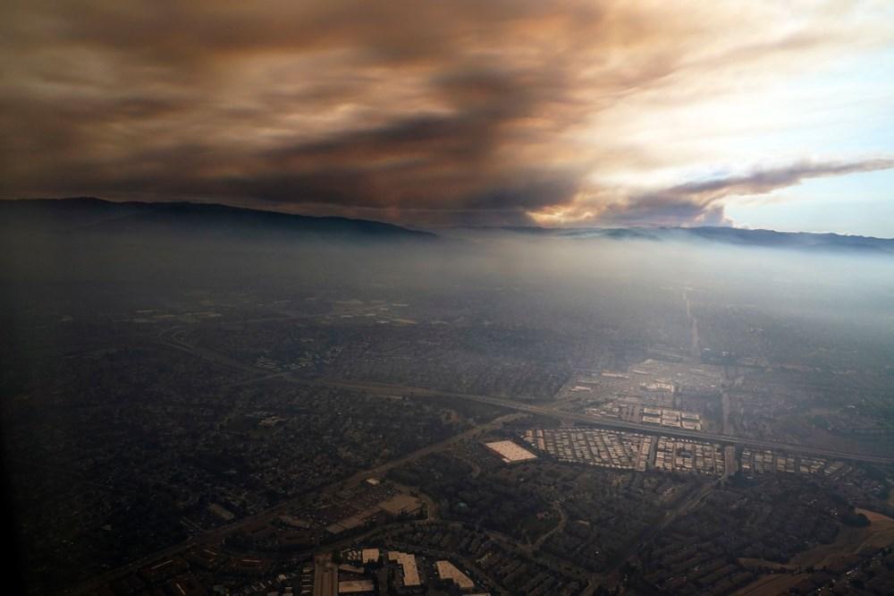 California'da yangınlar kontrol altına alınamadı: Bir helikopter düştü - 17