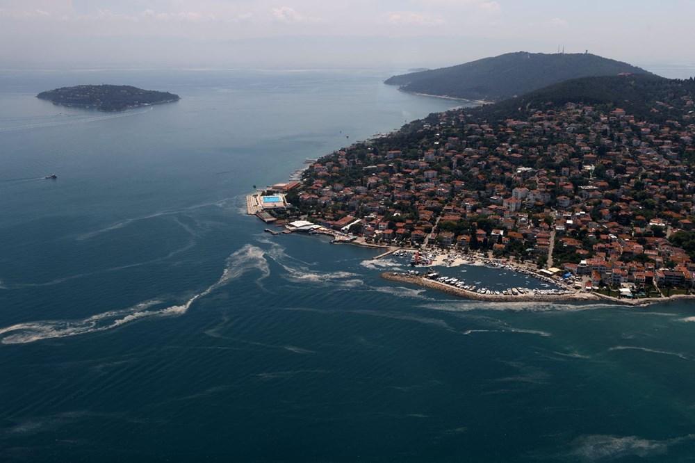 Müsilaj havadan görüntülendi: Deniz salyası her yerde - 12