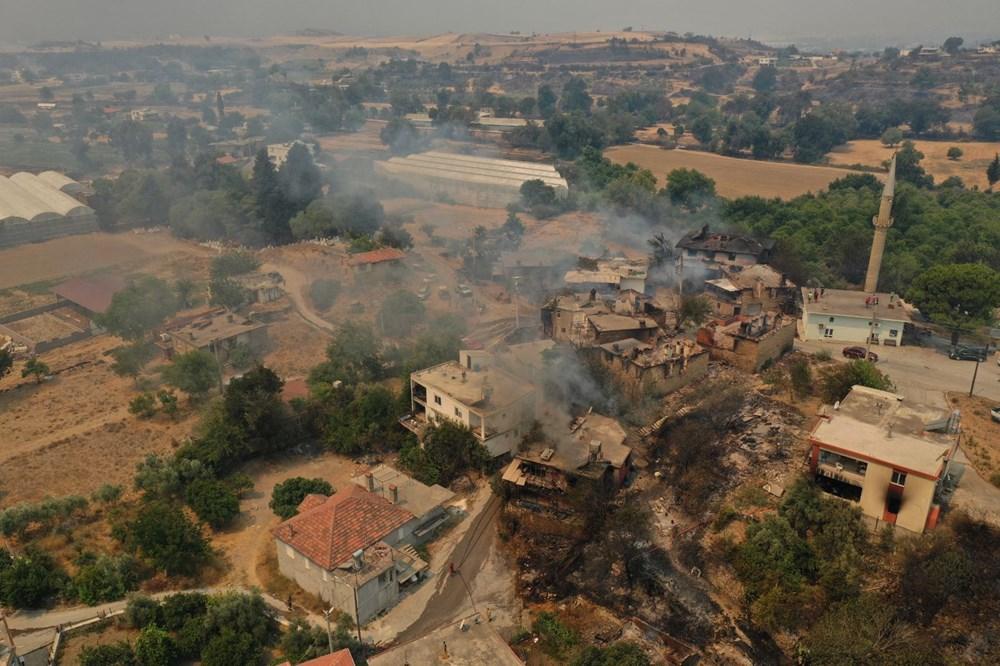 Antalya Manavgat'ta yangın: 3 ölü - 7