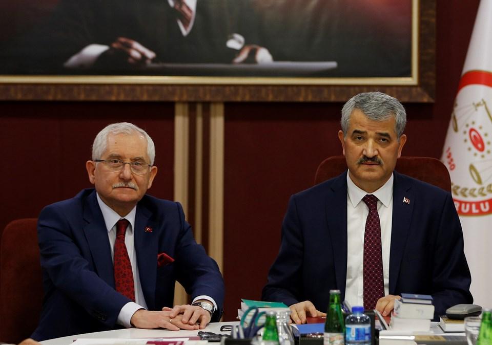 Sadi Güven ve Muharrem Akkaya (soldan sağa)