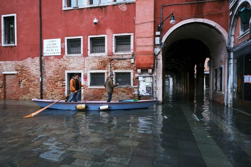 Venedik'te yine su baskını: Milyar dolarlık proje işe yaramadı - 13