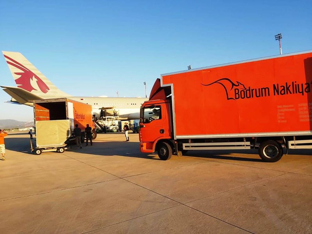 Katar kraliyet ailesi Bodrum'da: 2 kamyon eşya, 500 valiz - 3