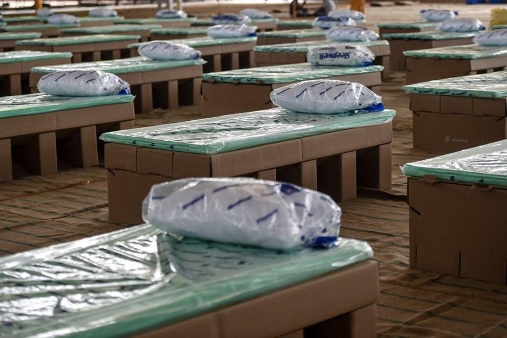Hindistan'da Covid-19'a karşı karton yatak çözümü - 18