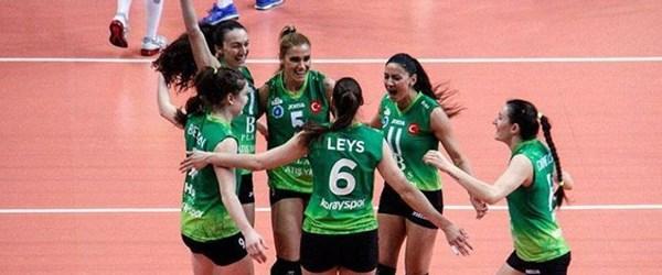 Bursa Büyükşehir Belediyespor finalde