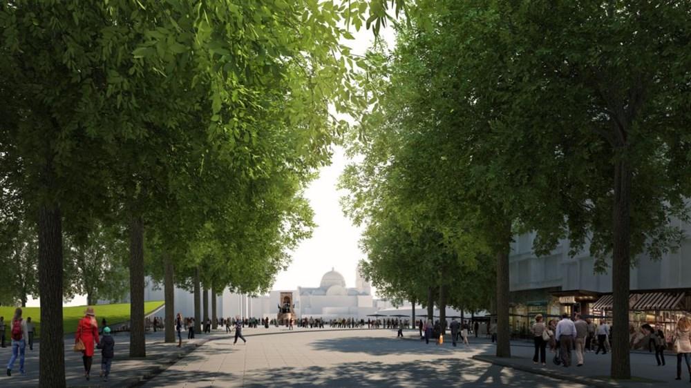 Taksim Meydanı Tasarım Yarışması sonuçlandı (Taksim Meydanı böyle olacak) - 36
