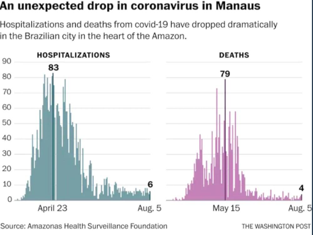 Amazonların başkentinde corona virüse karşı sürü bağışıklığı sağlanmış olabilir - 2