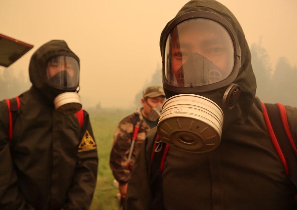 NASA duyurdu: Sibirya'daki yangınların dumanları tarihte ilk kez Kuzey Kutbu'na ulaştı - 3