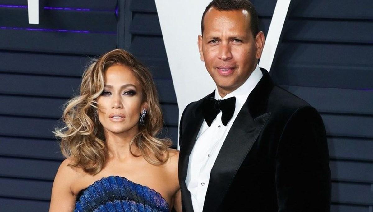 Ayrıldıklarını açıklayan Jennifer Lopez ile Alex Rodriguez akşam yemeğinde görüldü