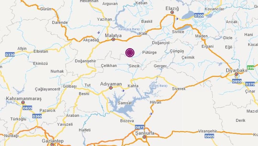 SON DAKİKA HABERİ: Malatya Battalgazi'de 4,4'lük deprem