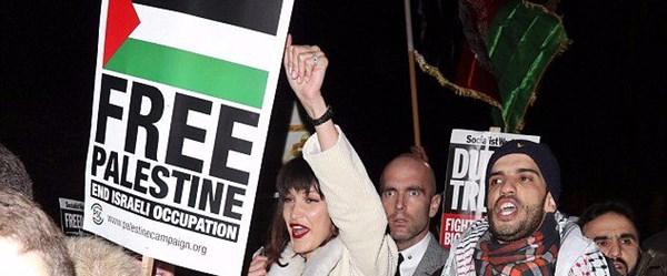 Bella Hadid'den Filistinli eylemcilere destek