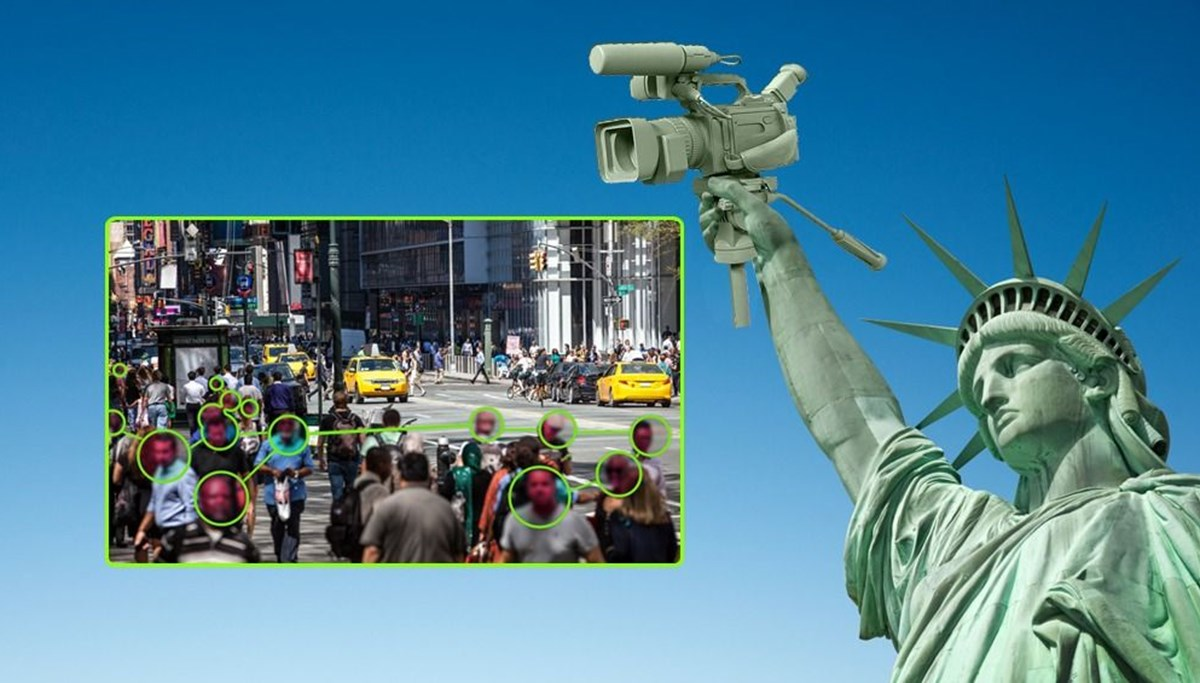 Gözetim şehri New York: Yüz tanıma kameraları