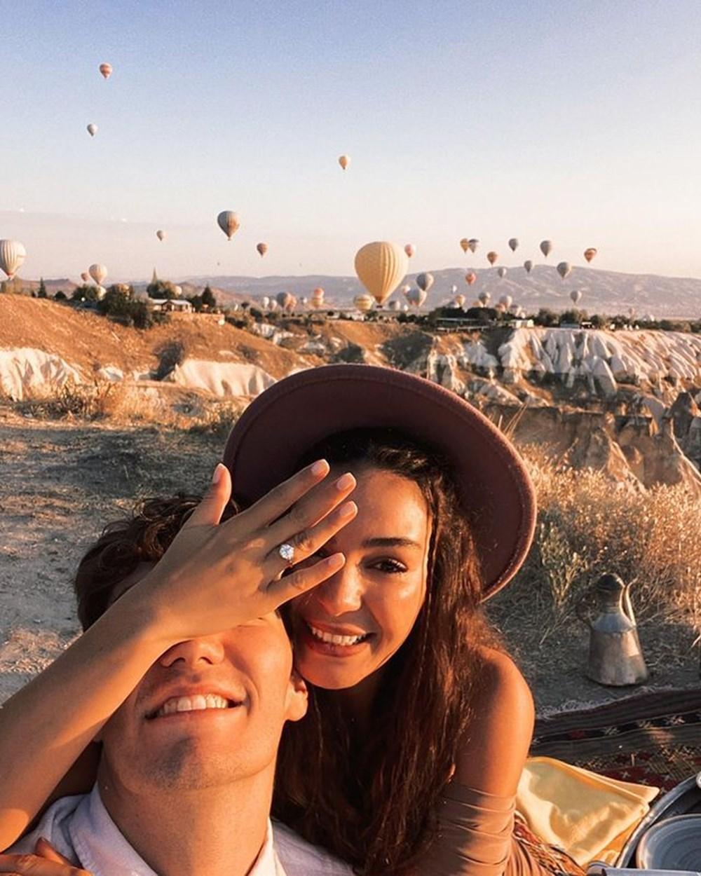 Ebru Şahin, Cedi Osman'ın evlililk teklifini kabul etti - 5