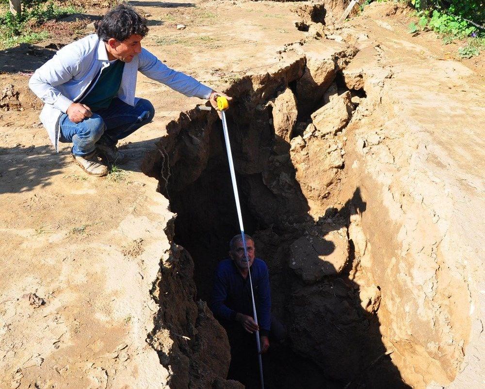 Manisa'da fay hattı üzerindeki yarıklar için inceleme başlatıldı - 9