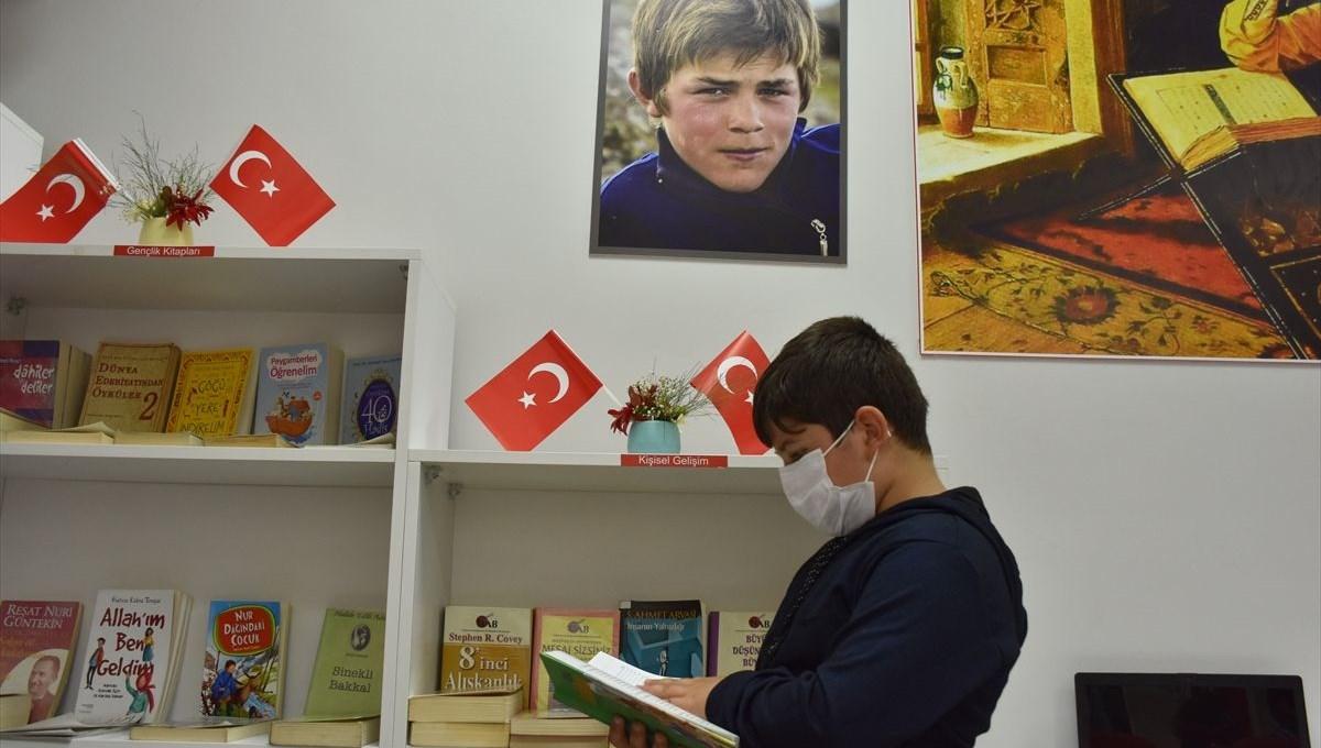 Trabzon'da Şehit Eren Bülbül Kütüphanesi açıldı
