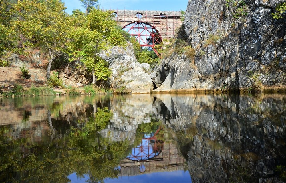 Troya'nın 3 bin 500 yıllık su kemeri restore ediliyor - 5