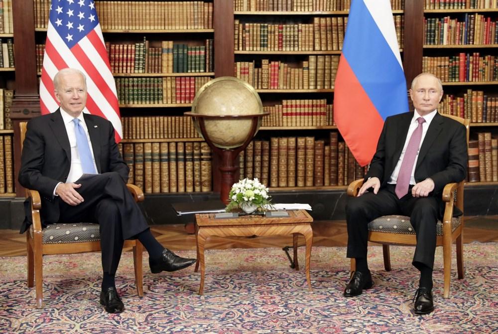 ABD Başkanı Biden ve Rus Devlet Başkanı Putin'in görüşmesi başladı: Zirveden kareler - 7