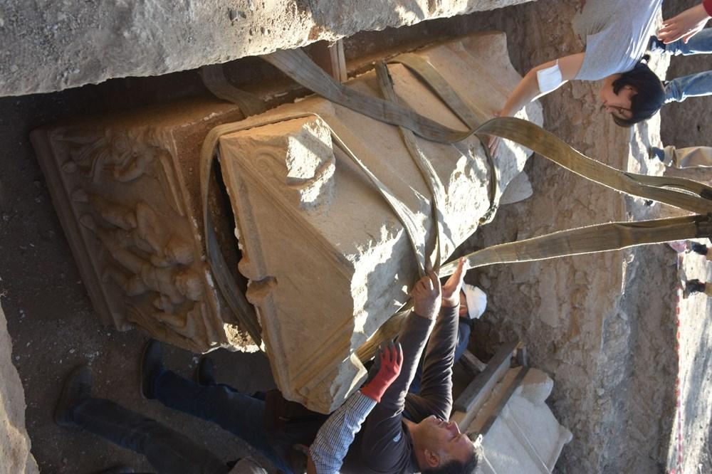 İznik'te Hisardere kazılarında iki lahit bulundu: Mumyalanmış 3 iskelet - 13