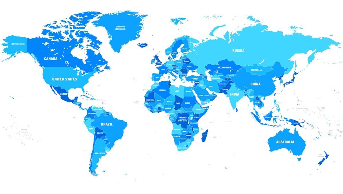 Dünyanın yüzölçümü en büyük ülkeleri (Türkiye kaçıncı sırada?)
