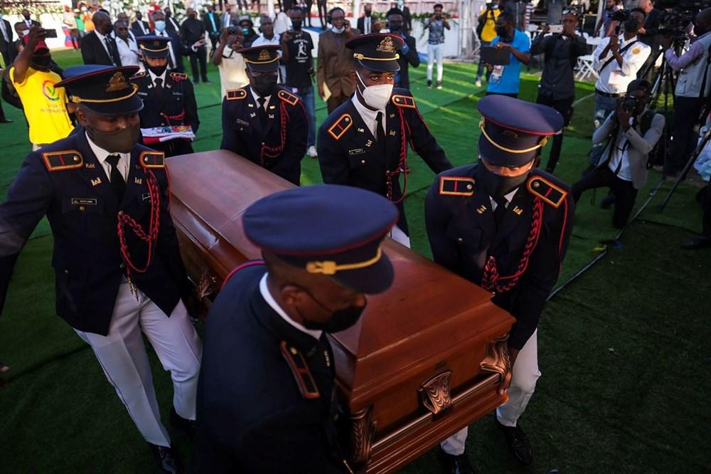 Suikasta uğrayan Haiti Devlet Başkanı'na cenaze töreni düzenlendi - 10