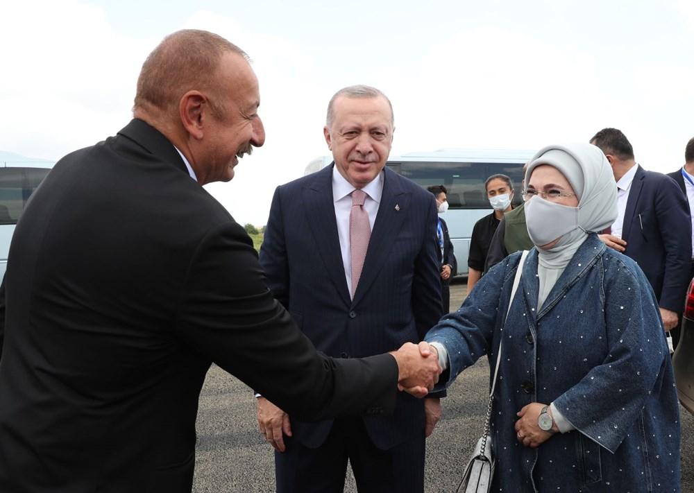 Cumhurbaşkanı Erdoğan, Azerbaycan'da - 1