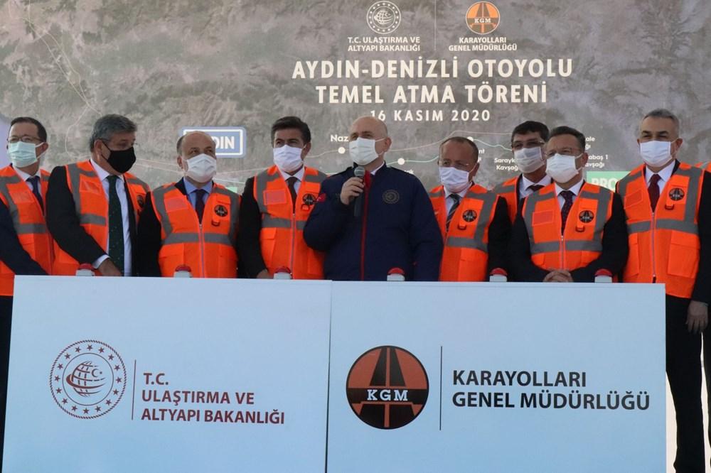 Bakan Karaismailoğlu: Aydın-Denizli Otoyolu seyahat süresini 1 saat 15 dakikaya düşürecek - 13