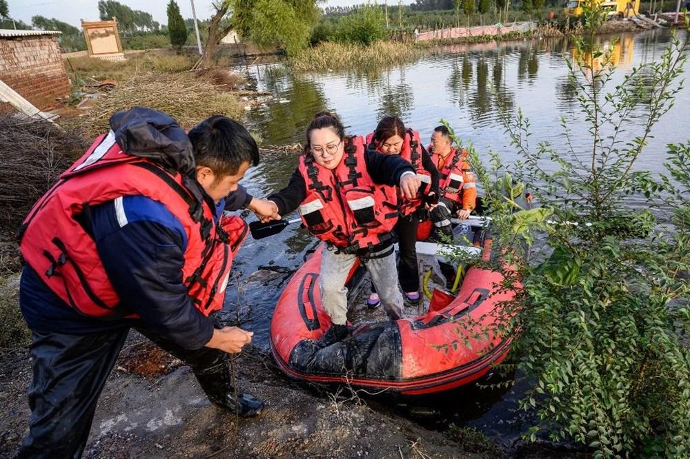 Çin'de sel felaketi: 15 can kaybı - 8