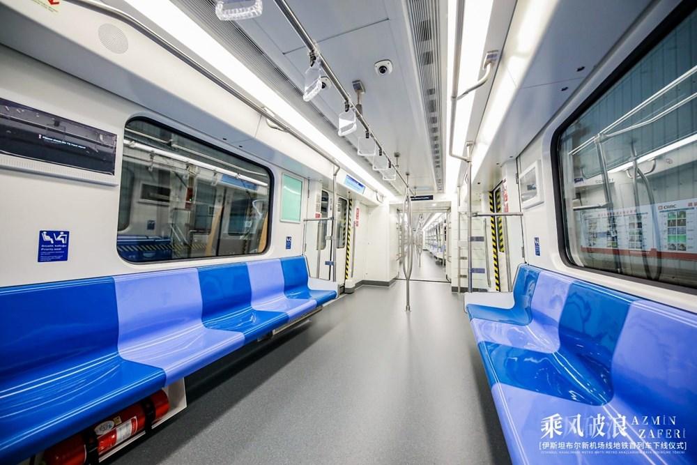 Gayrettepe-İstanbul Havalimanı Metrosu'nda ilk tren raylara indi - 12