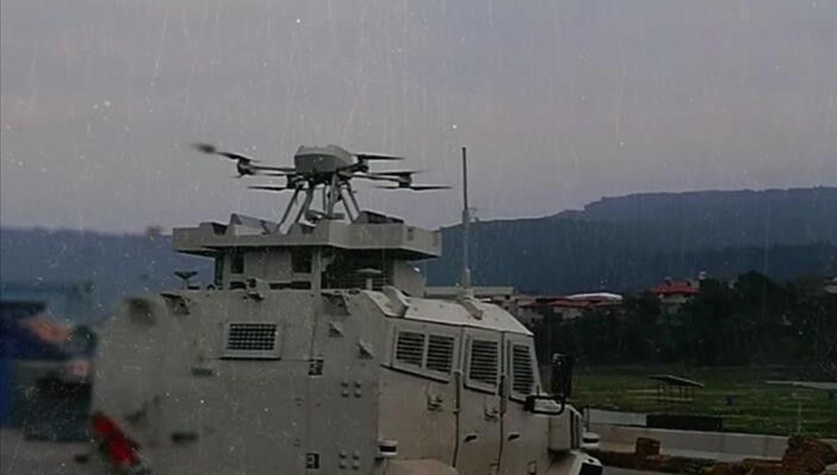 Silahlı drone Songar, askeri kara aracına entegre edildi (Türkiye'nin yeni nesil yerli silahları)