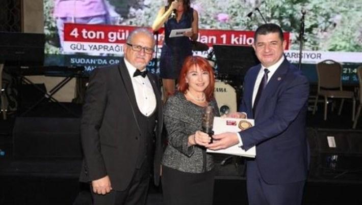 Antalya'da NTV'ye ödül