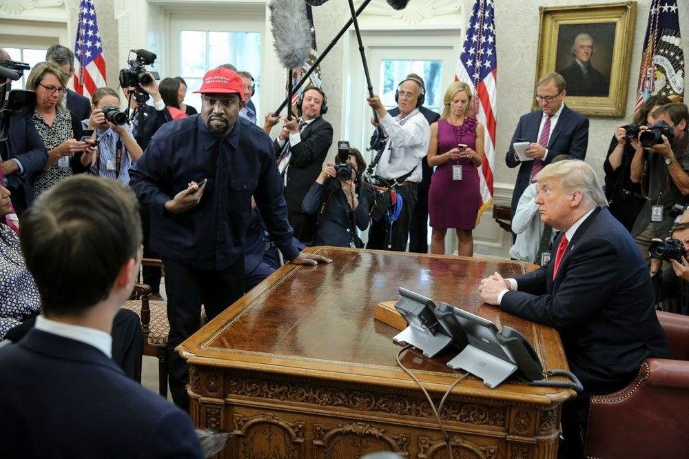 Kim Kardashian'ın eşi rap şarkıcısı Kanye West ABD Başkanlığı'na aday oldu - 12
