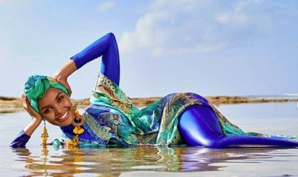 İlk tesettürlü model Halima Aden podyumu bıraktı: Moda asla bana göre değildi - 10