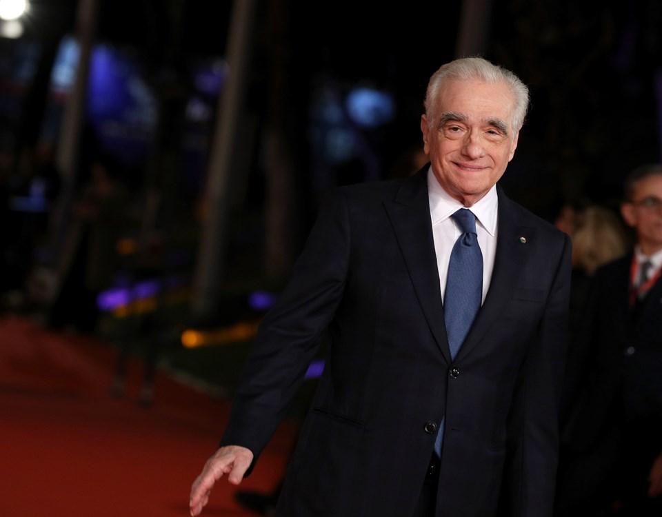 Martin Scorsese, The Irishman'in Roma Film Festivali'ndeki galasında