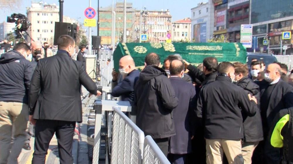 Soylu'nun annesi için tören düzenlendi (Cumhurbaşkanı Erdoğan da katıldı) - 2