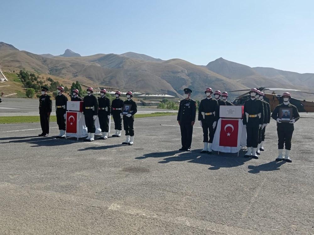 Şehit askerler için tören - 2
