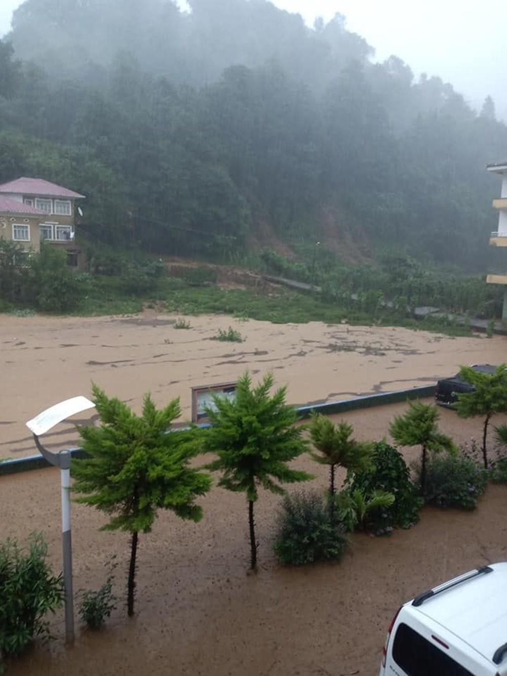 Şiddetli yağış Rize'yi de vurdu: 2 can kaybı - 35