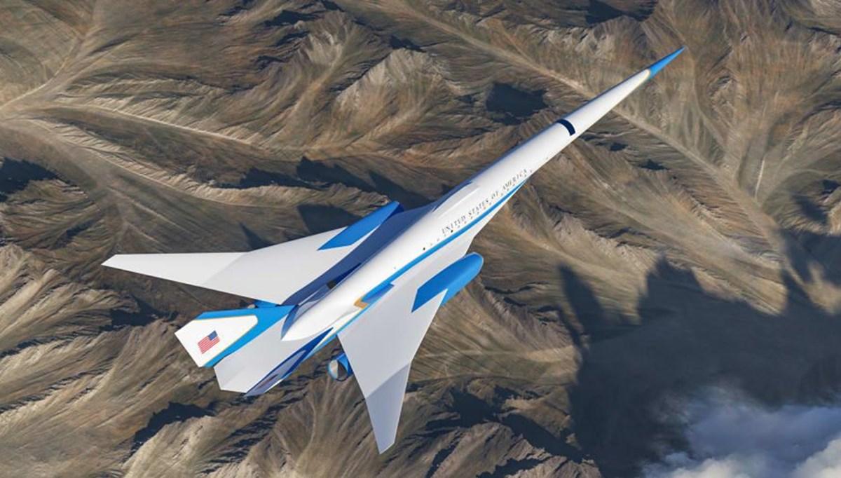 ABD Başkanları için hazırlanan süpersonik uçak 2030 yılında kullanıma hazır olacak