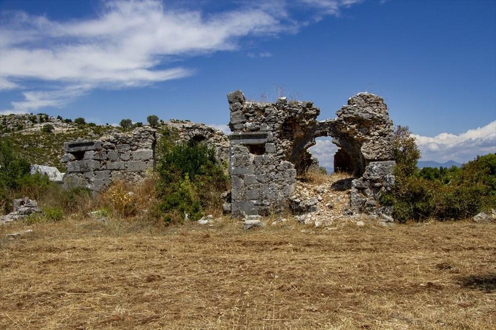 2 bin yıllık Sidyma Antik Kenti içinde yerleşik hayat - 13