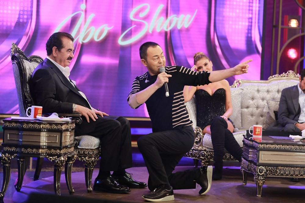 İbo Show yeni bölüm fotoğrafları: İbrahim Tatlıses'in kızı Elif Ada ilk kez stüdyoda - 1