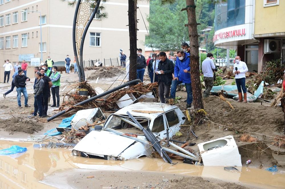 Giresun'u sel vurdu: 4 kişi hayatını kaybetti - 8