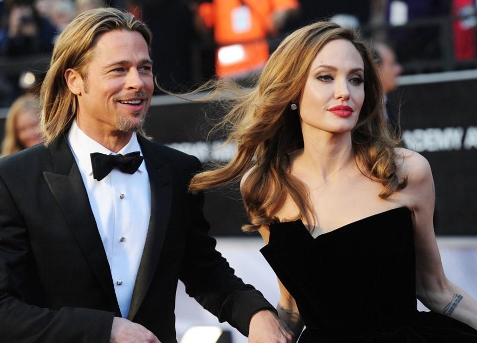 Pitt, 2005 yılında Jolie aşkı uğruna 5 yıllık karısı Jennifer Aniston'dan boşanmıştı.
