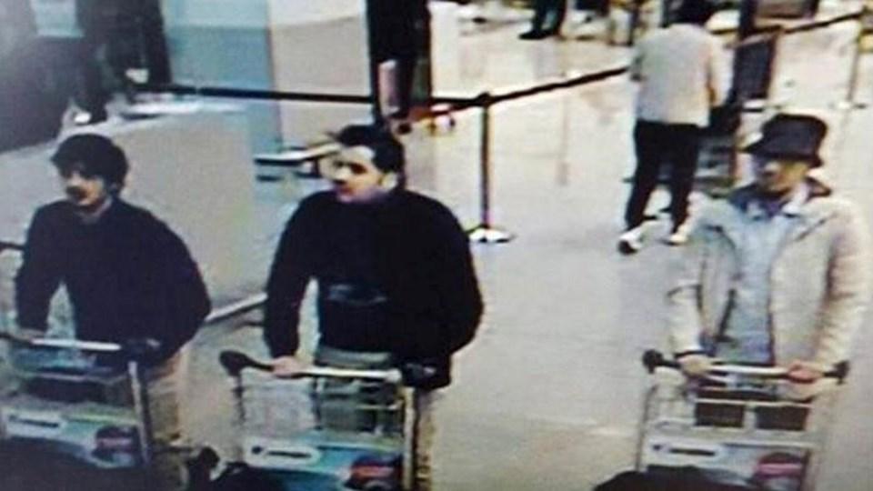 Bu görüntünün dün Zaventem Havalimanı'nda patlamadan hemen önce alındığı iddia ediliyor. Belçika polisi görüntüdeki beyaz montlu kişiyi her yerde arıyor.