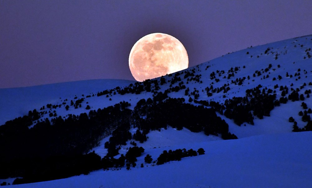 Yurttan 'Süper Solucan Ay' manzaraları - 8