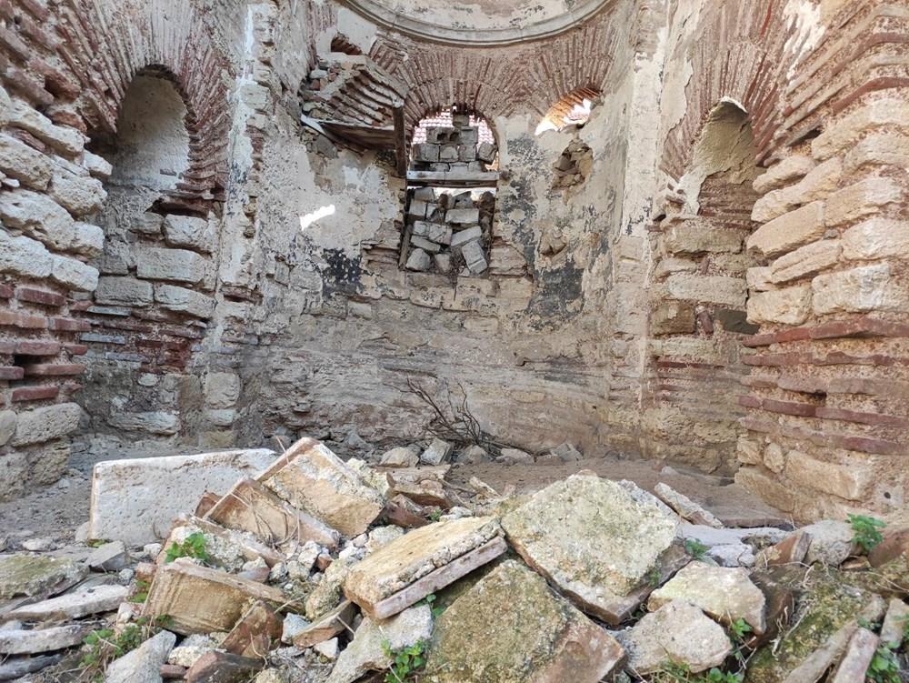Bursa'da tarihi Aya Yani Kilisesi definecilerin hedefi oldu - 11