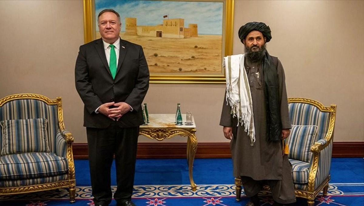 ABD Dışişleri Bakanı Pompeo Taliban liderleri ile görüştü