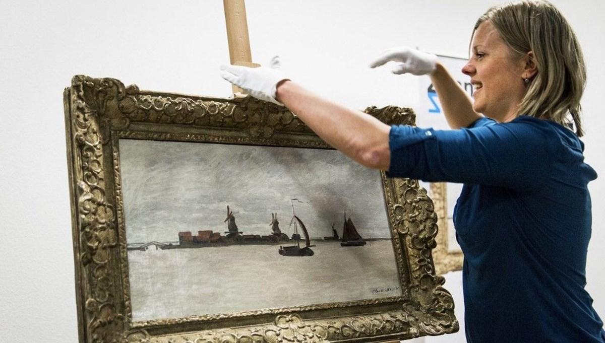 Claude Monet'in tablosunu çalmaya çalıştılar