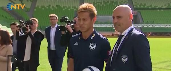Japon futbolcunun eşine az rastlanır kariyeri (Avustralya ile Kamboçya arasında mekik dokuyacak)