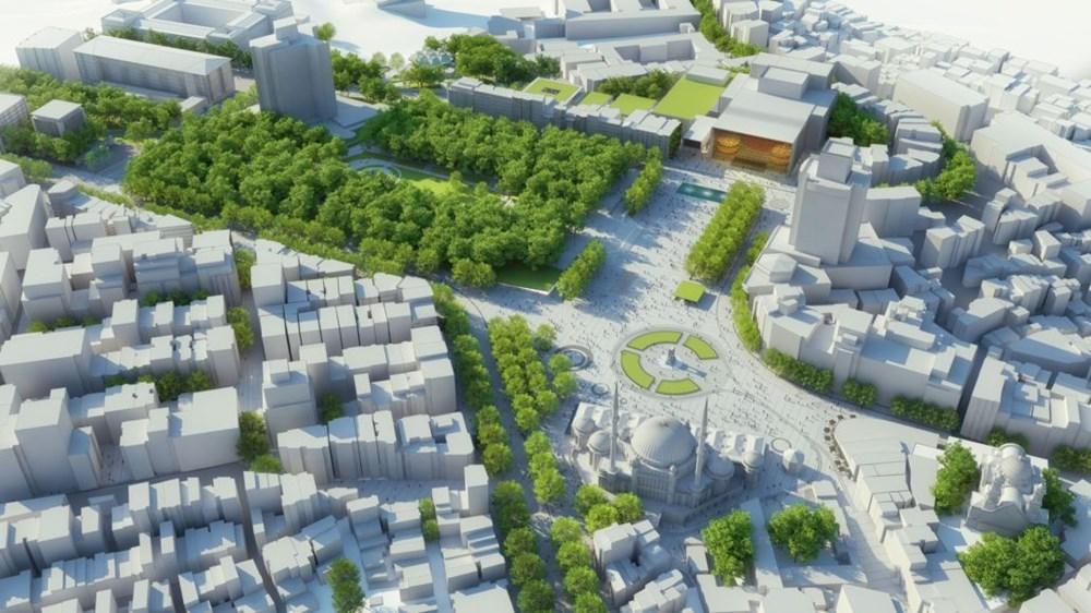 Taksim Meydanı Tasarım Yarışması sonuçlandı (Taksim Meydanı böyle olacak) - 31