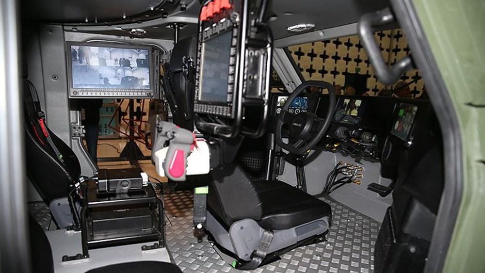 Dijital birliğin robot askeri Barkan göreve hazırlanıyor (Türkiye'nin yeni nesil yerli silahları) - 148