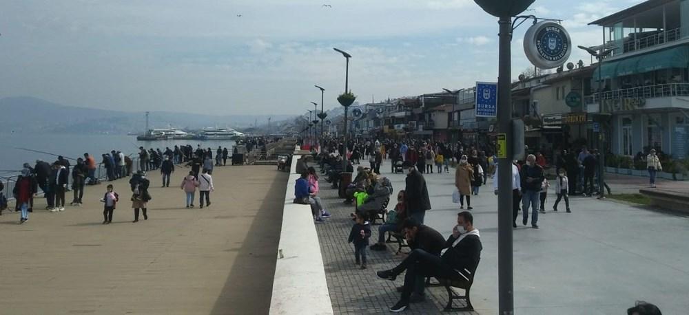 Kademeli normalleşmede 2. hafta sonu: Sahil ve parklar doldu - 19
