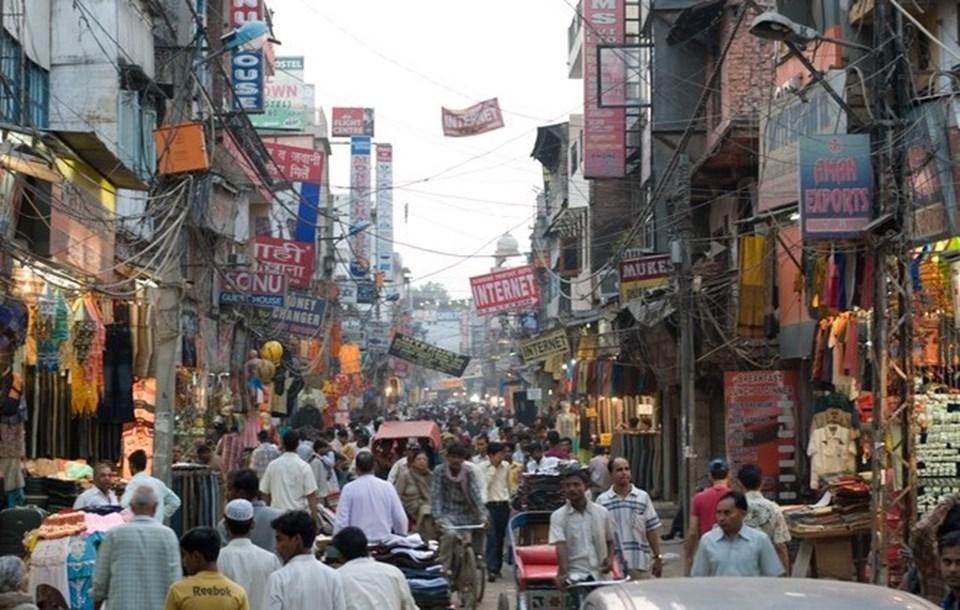 Yeni Delhi'den bir görüntü